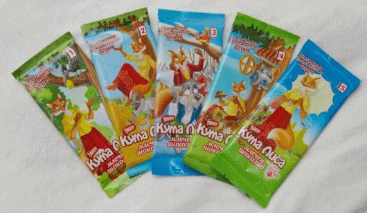 Шоколад Кума Лиса